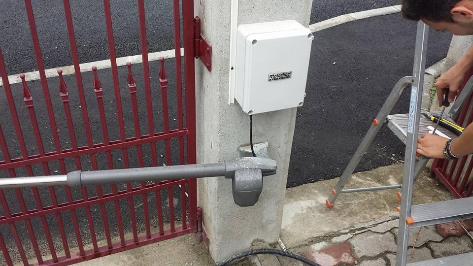 Instalare poarta batanta in Sibiu - Motorline
